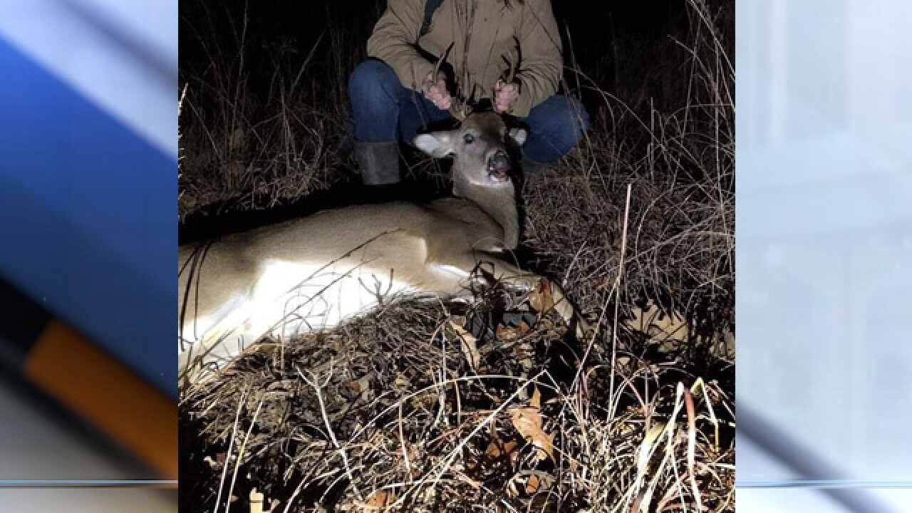 Date night gone wrong: Woman brags about spotlighting deer to game warden on dating app