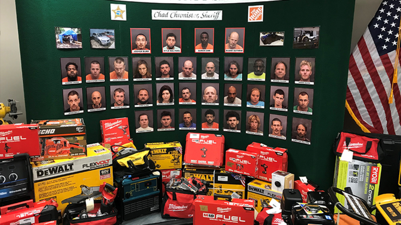 34 arrested in massive theft & re-sale ring at Hillsborough