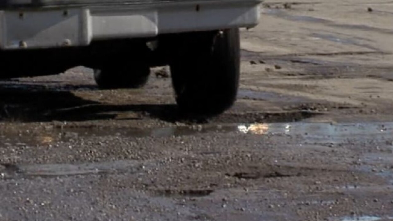 CLE says it has to know about potholes first