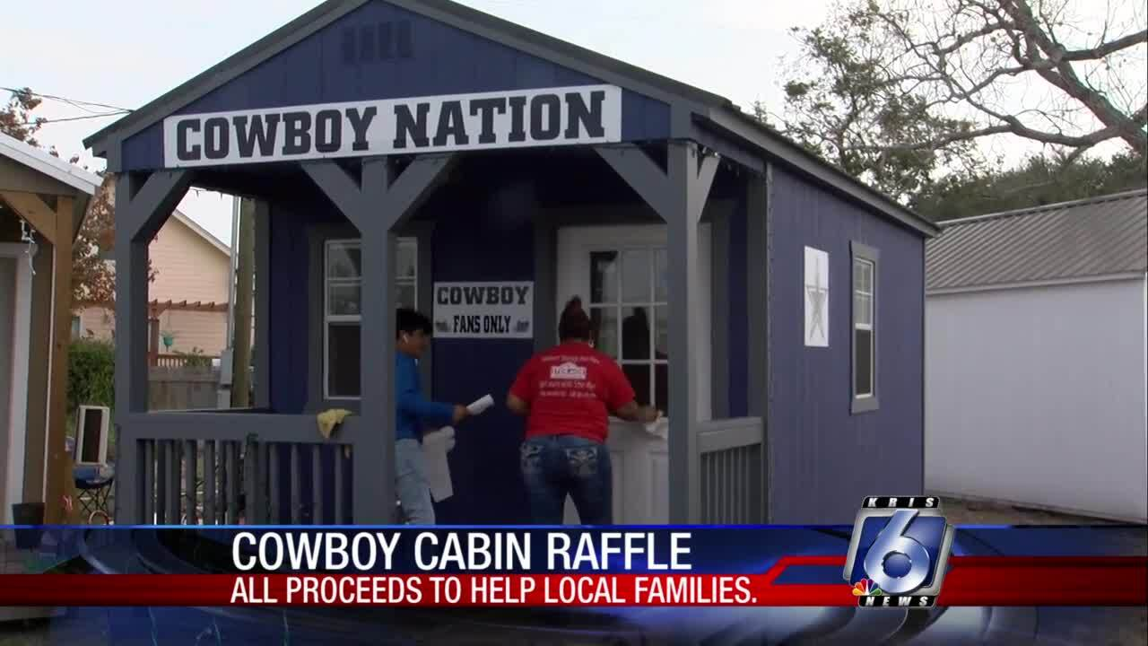 Cowboy cabin raffle