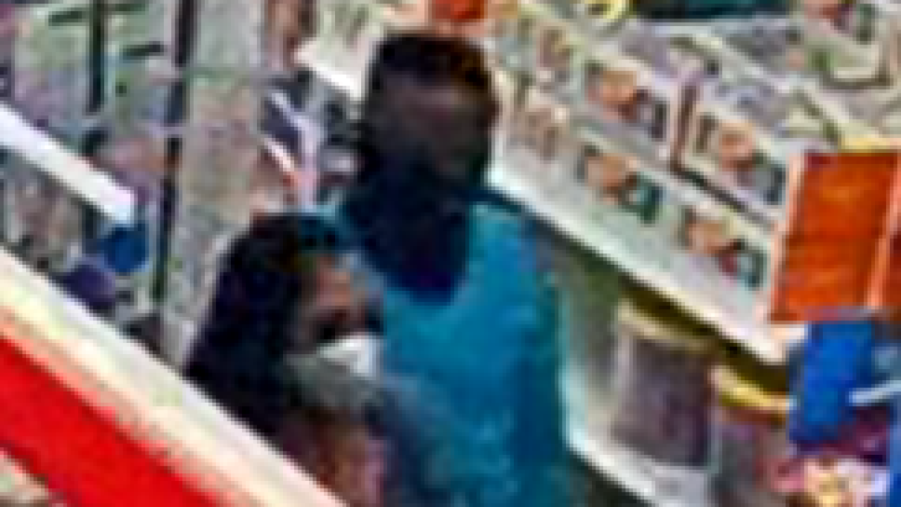 Close-up of Target shopping suspects