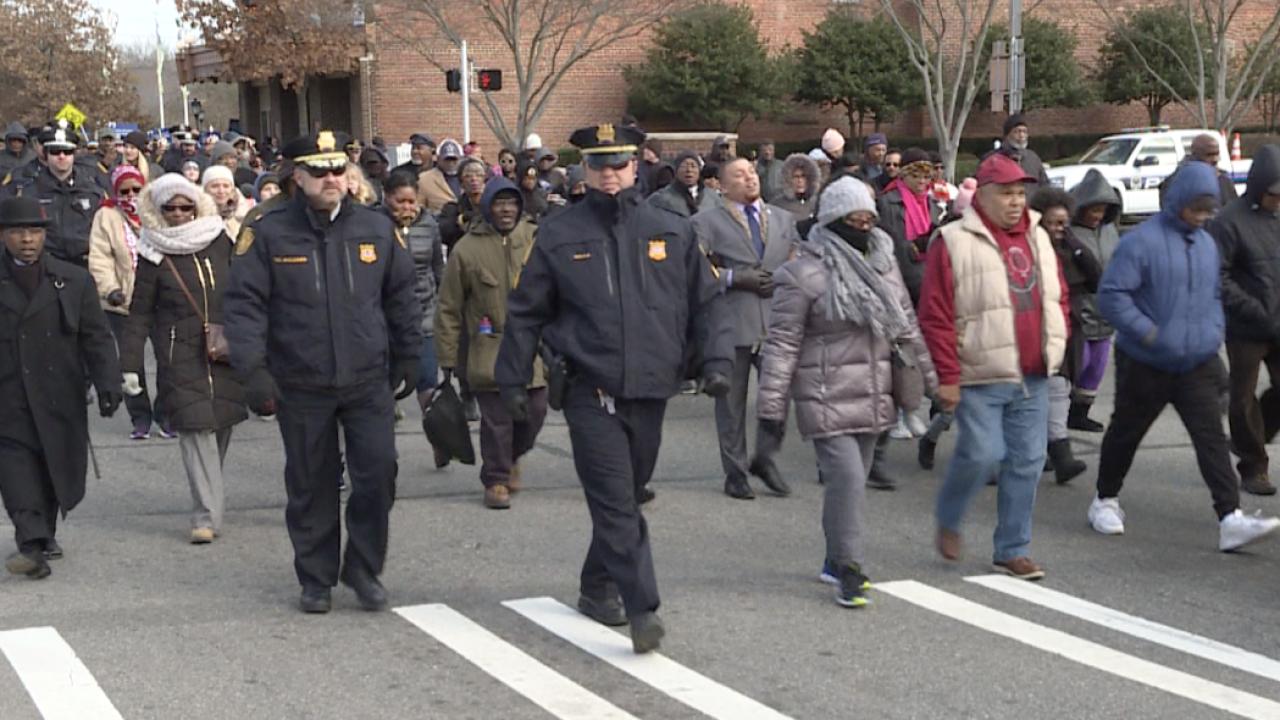 Community honors Dr. Martin Luther King Jr. inNorfolk