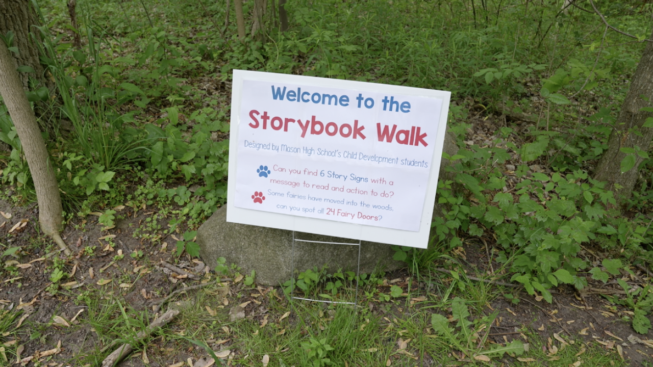 Welcome to the storybook walk