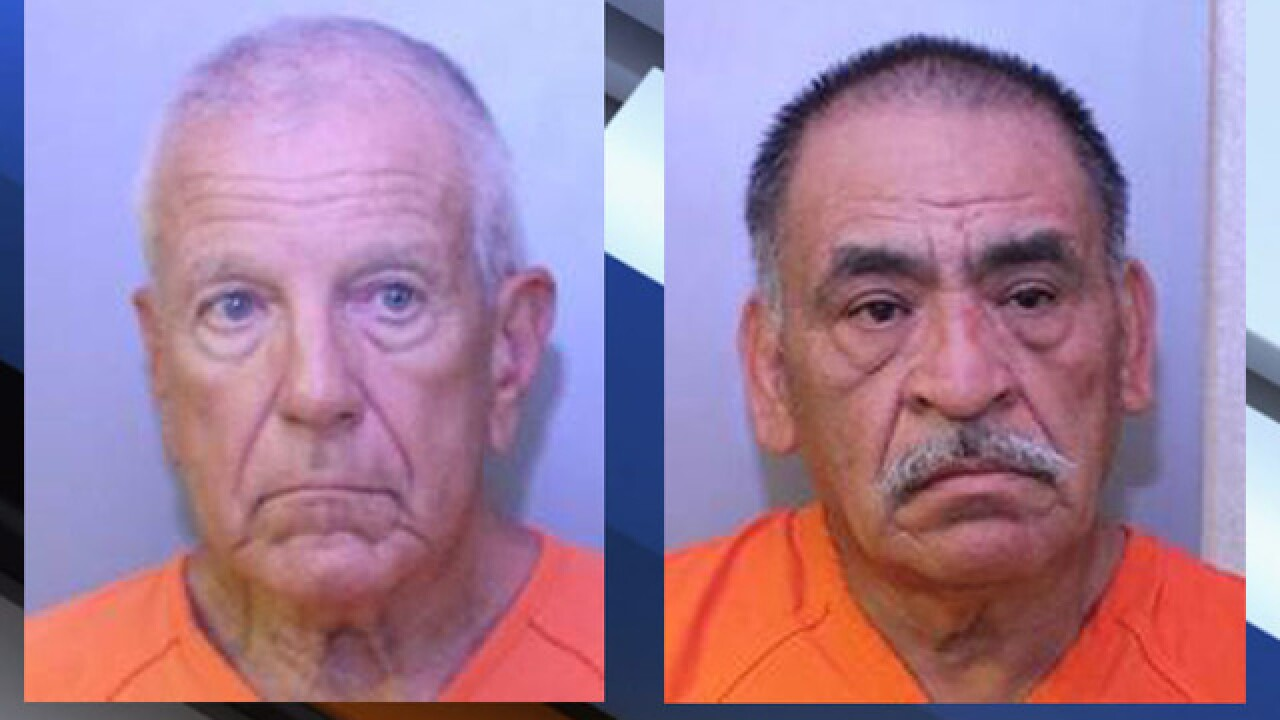 2 men arrested in Polk public park for lewd acts during undercover operation