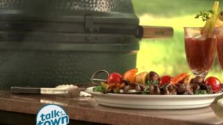 Grilled Bloody Marys and Marinated Beef Kabobs
