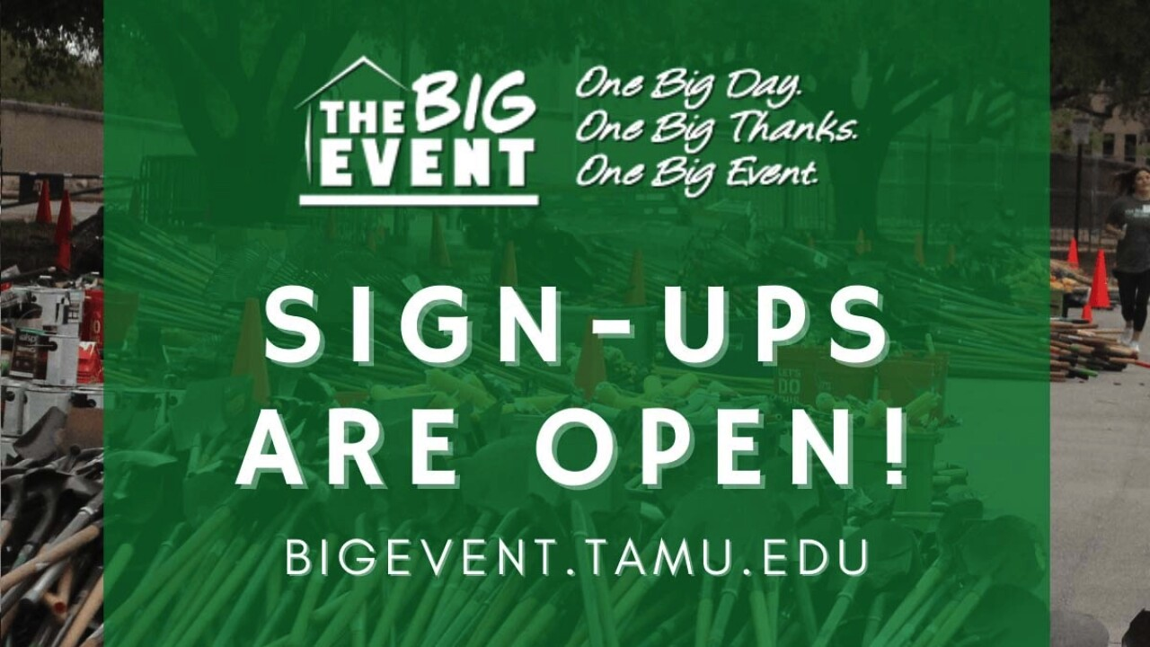 Texas A&M The Big Event