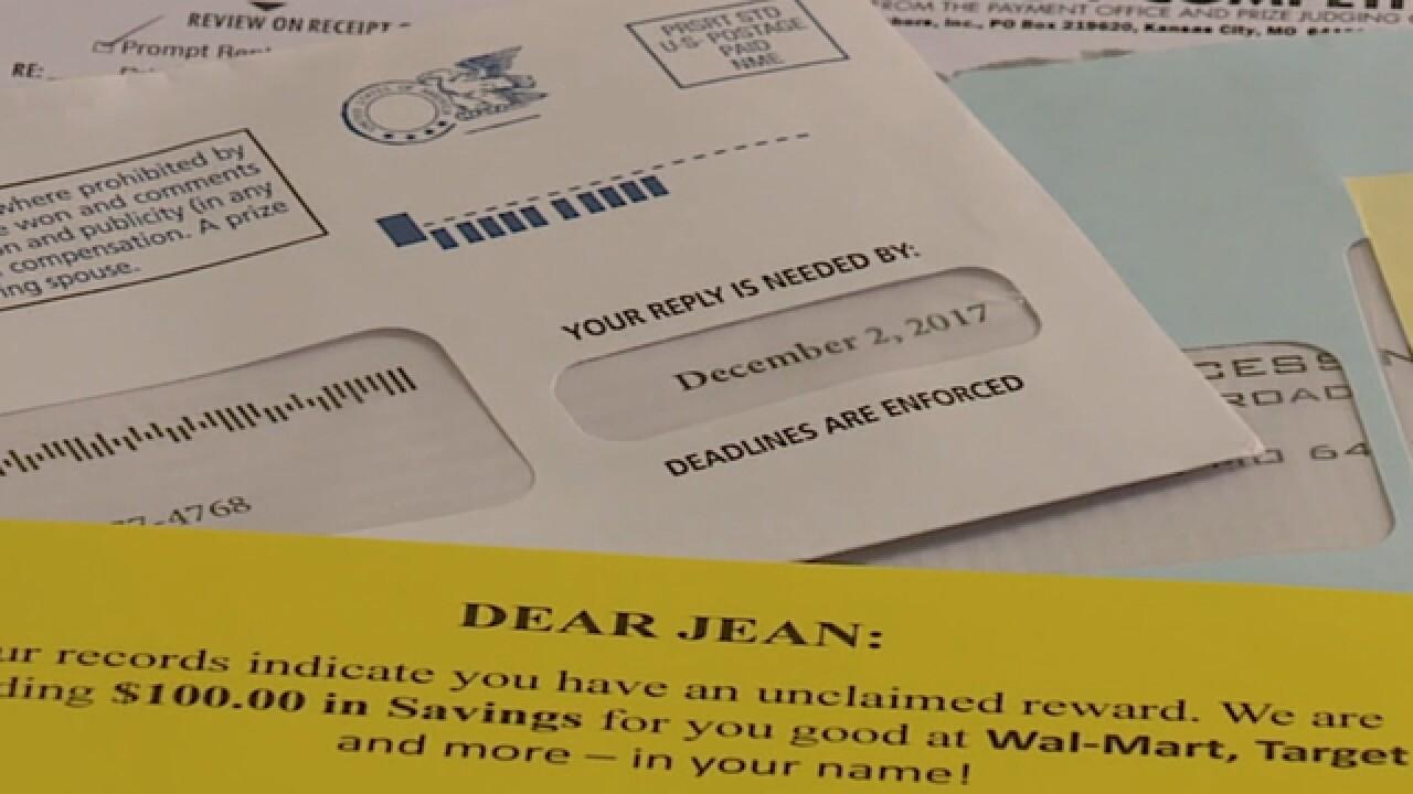 NE Ohio holiday scams through the U.S. mail