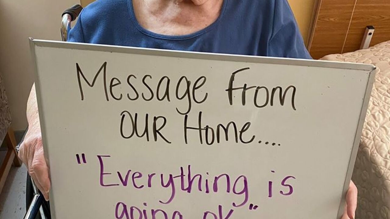 Nursing Home Posts Photos Of Residents With Messages For Their Families
