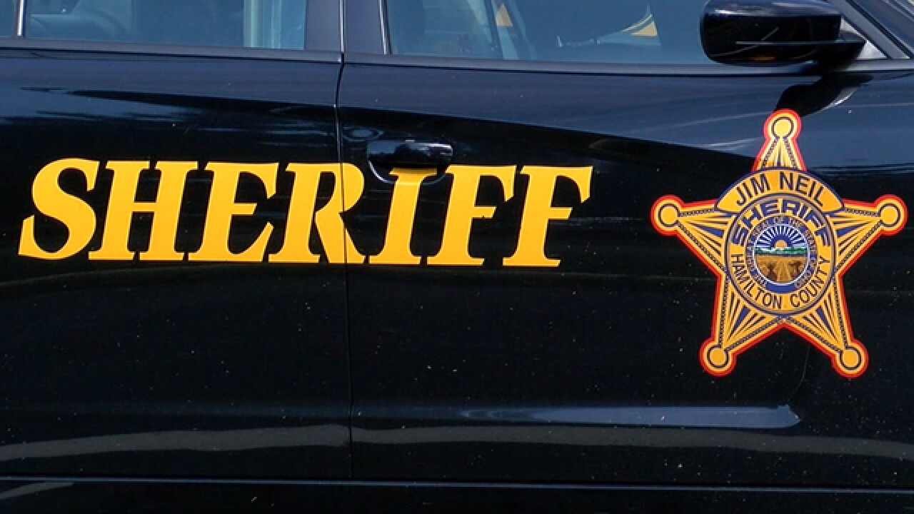 Hamilton County sheriff car