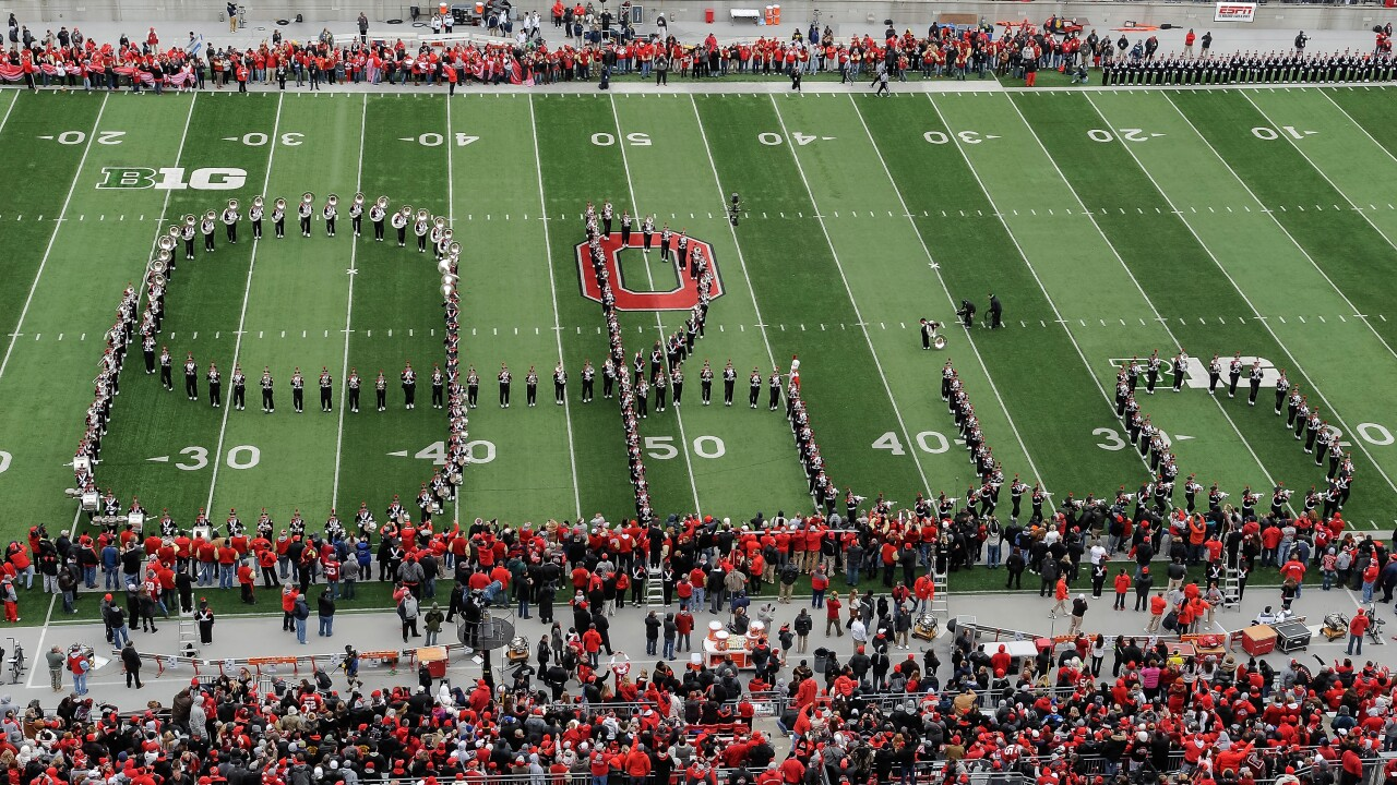 Happy Birthday to 'Script Ohio,' first performed by the OSU ...