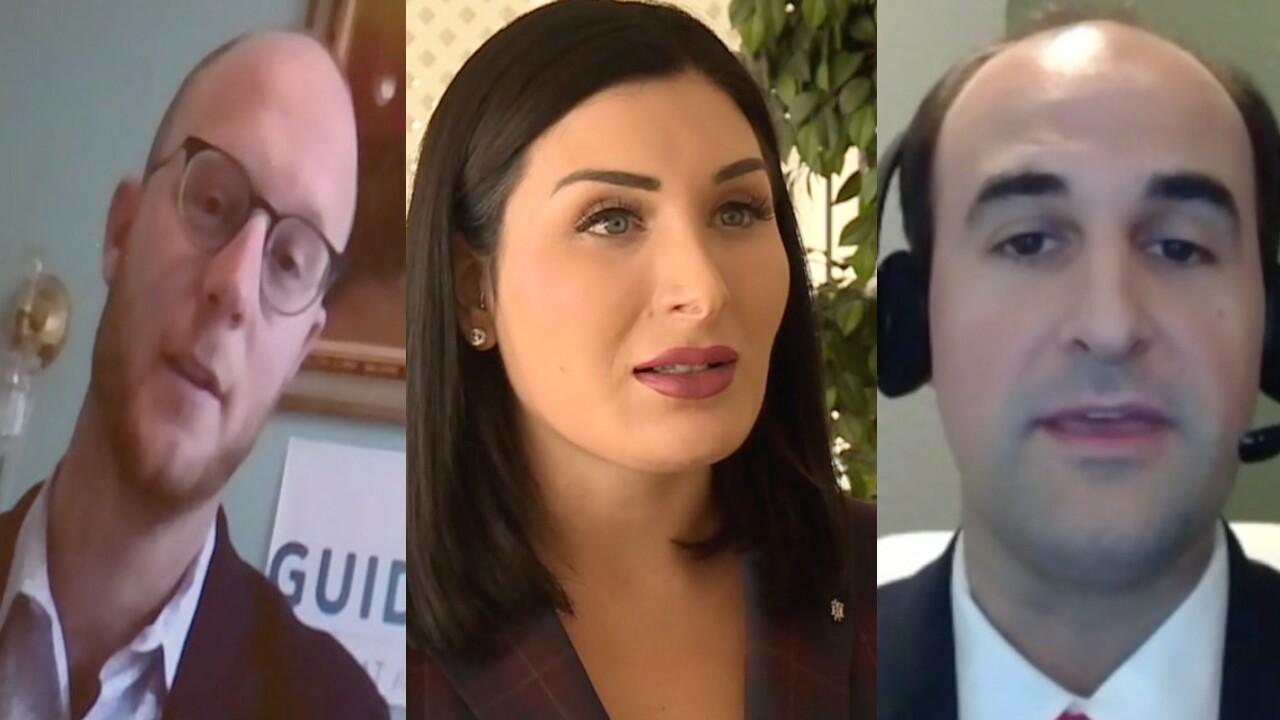 Guido Weiss, Laura Loomer, Christian Acosta