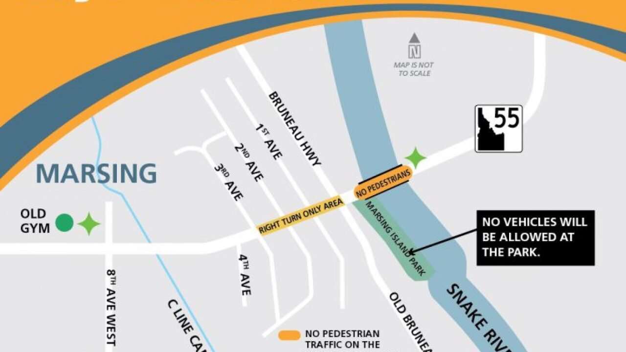 TRAFFIC ALERT: Construction on ID-55 in Marsing impacts July