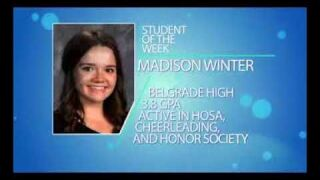 Student of the Week: Madison Winter
