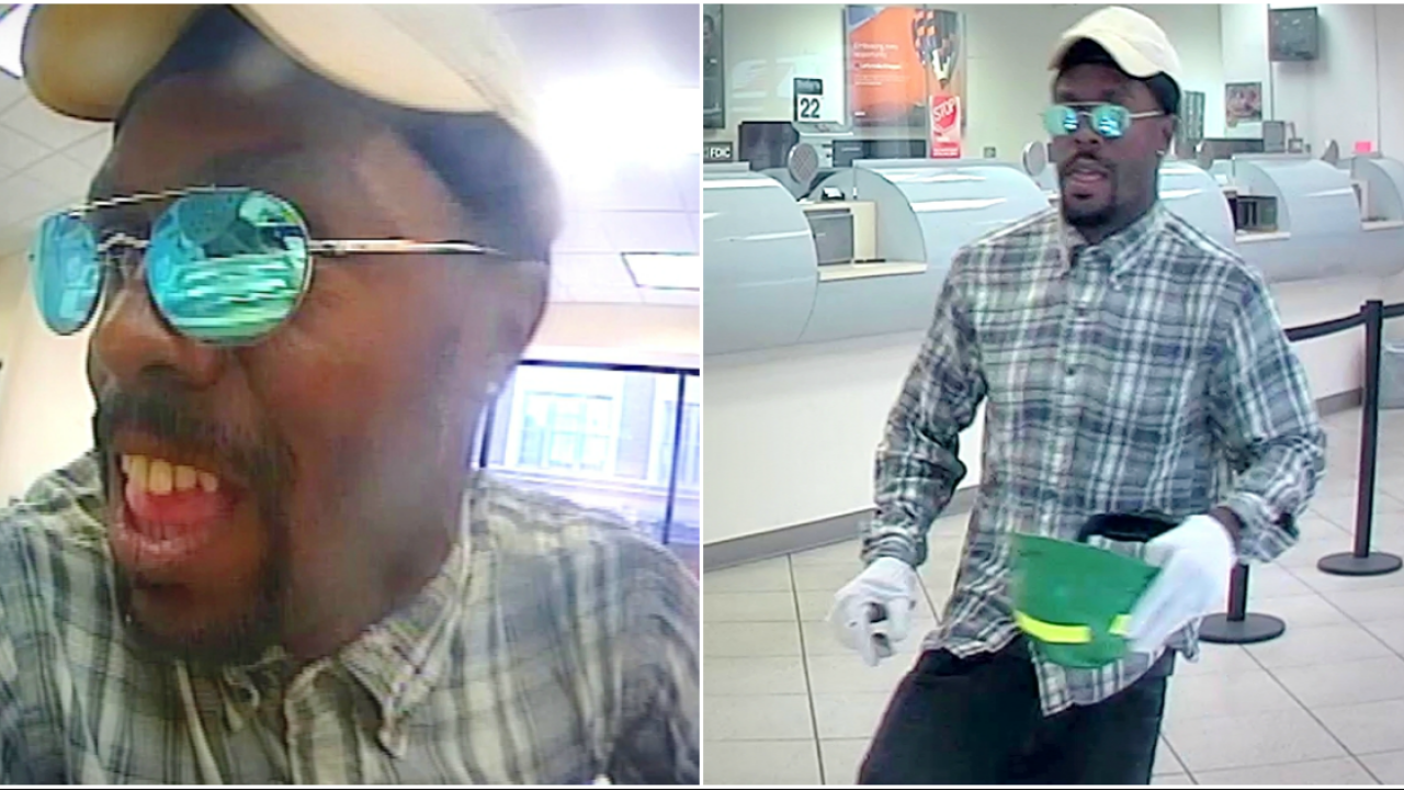 Helmet-toting suspect robs 1 Richmond bank, tries to rob 2others