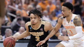 NCAA Purdue Tennessee Basketball