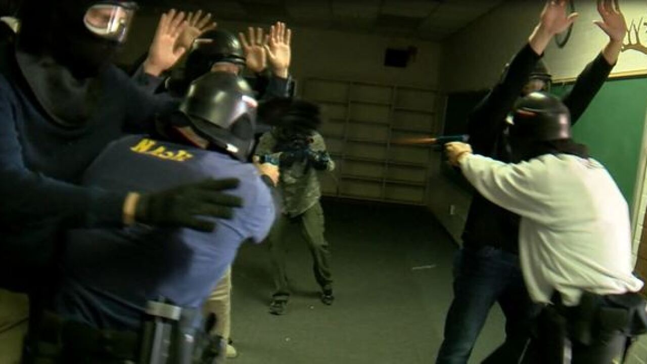 TPD conducts active shooter training