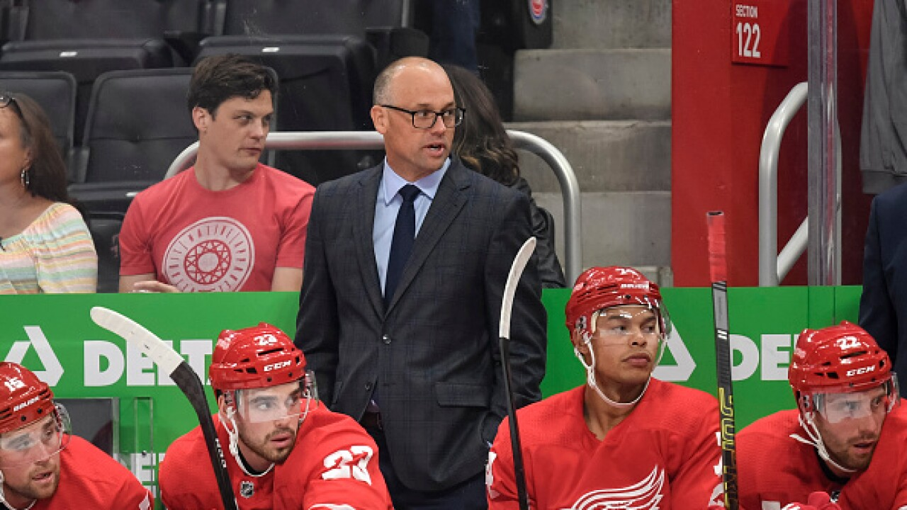 Jeff Blashill Red Wings