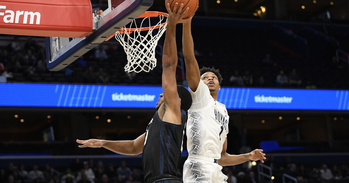 Butler stages second half comeback for win at Georgetown