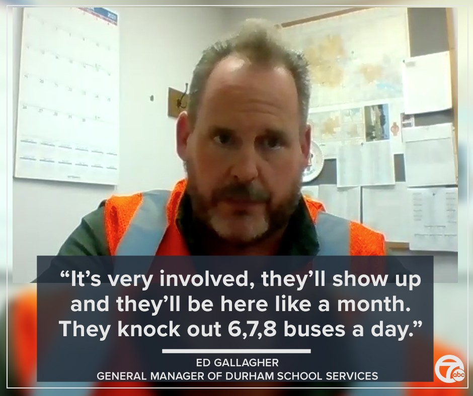 Ed Gallagher, General Manager of Durham School Services