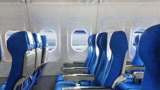Which airlines are filling middle seats?