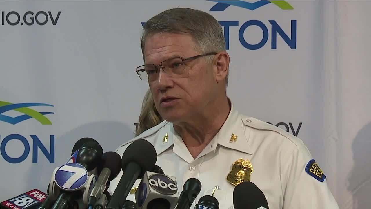 Dayton Police Chief Richard Biehl.