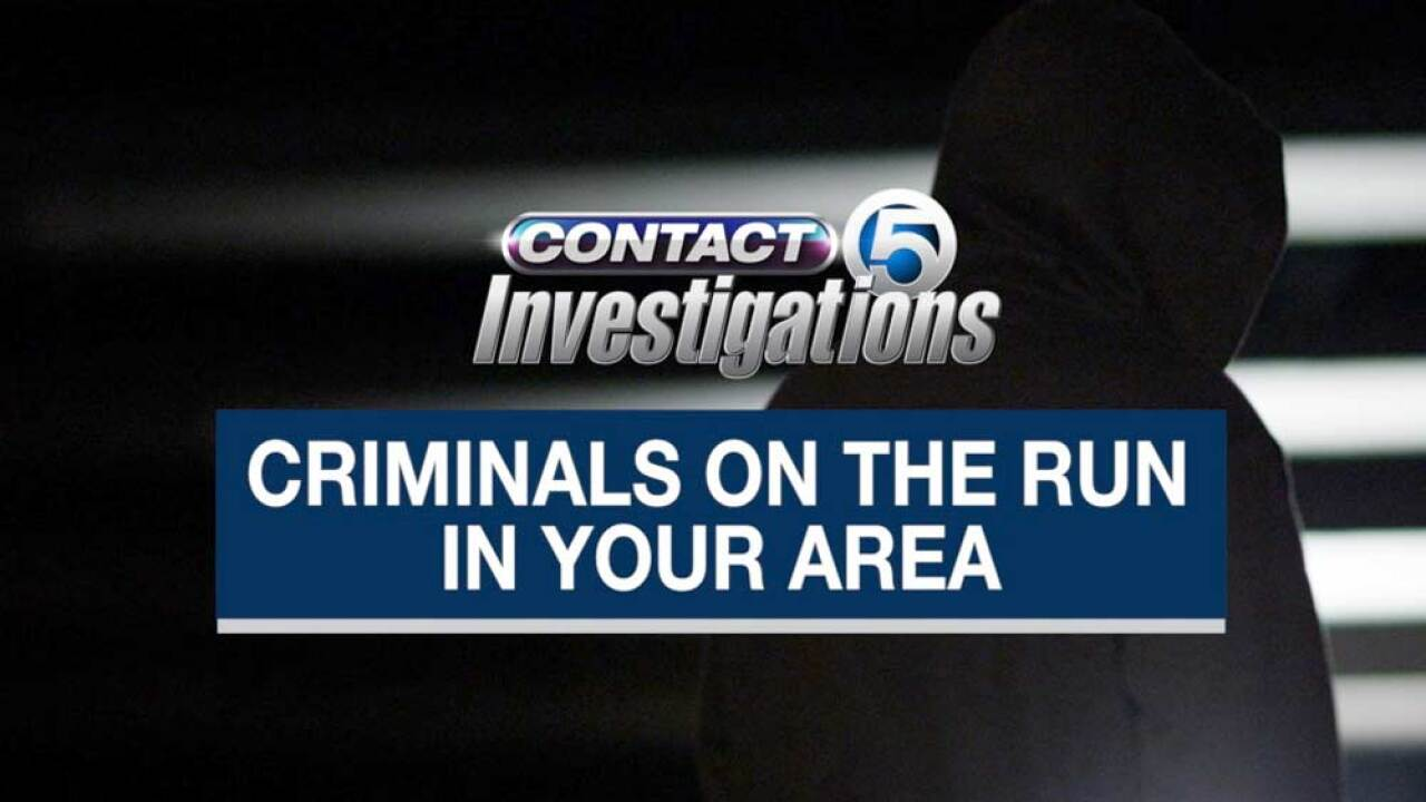 Criminals on the run in Florida
