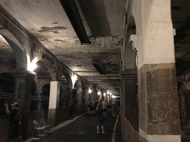 Photos: Cleveland residents get inside look at the historic Veterans Memorial Bridge & Subway