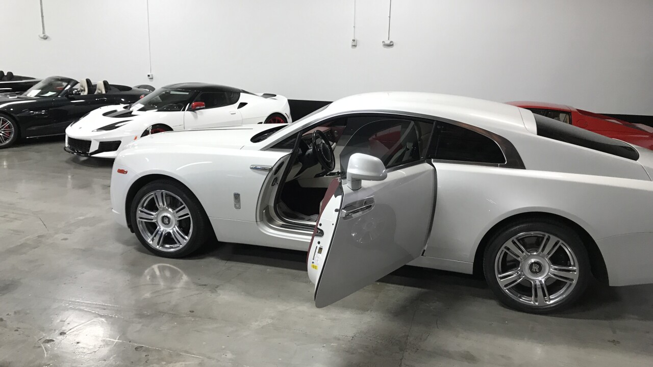 Vegas Auto Gallery carters to high-end cars and customers.