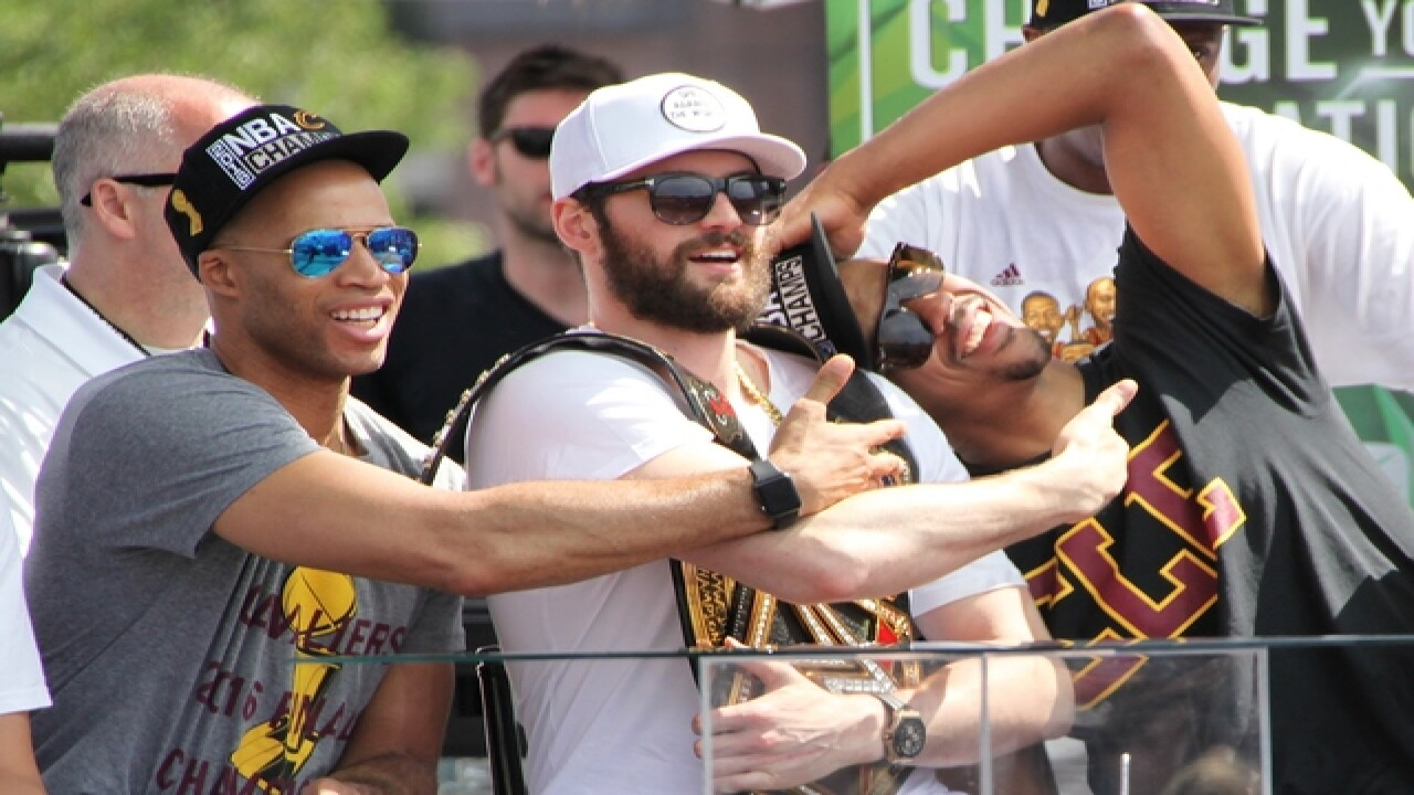 GALLERY | Cleveland Cavaliers championship rally