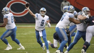 Matthew Stafford Lions Bears Football