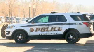 Great Falls Police Department patrol vehicle