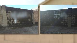 Racist graffiti in Mesa 12-3-19