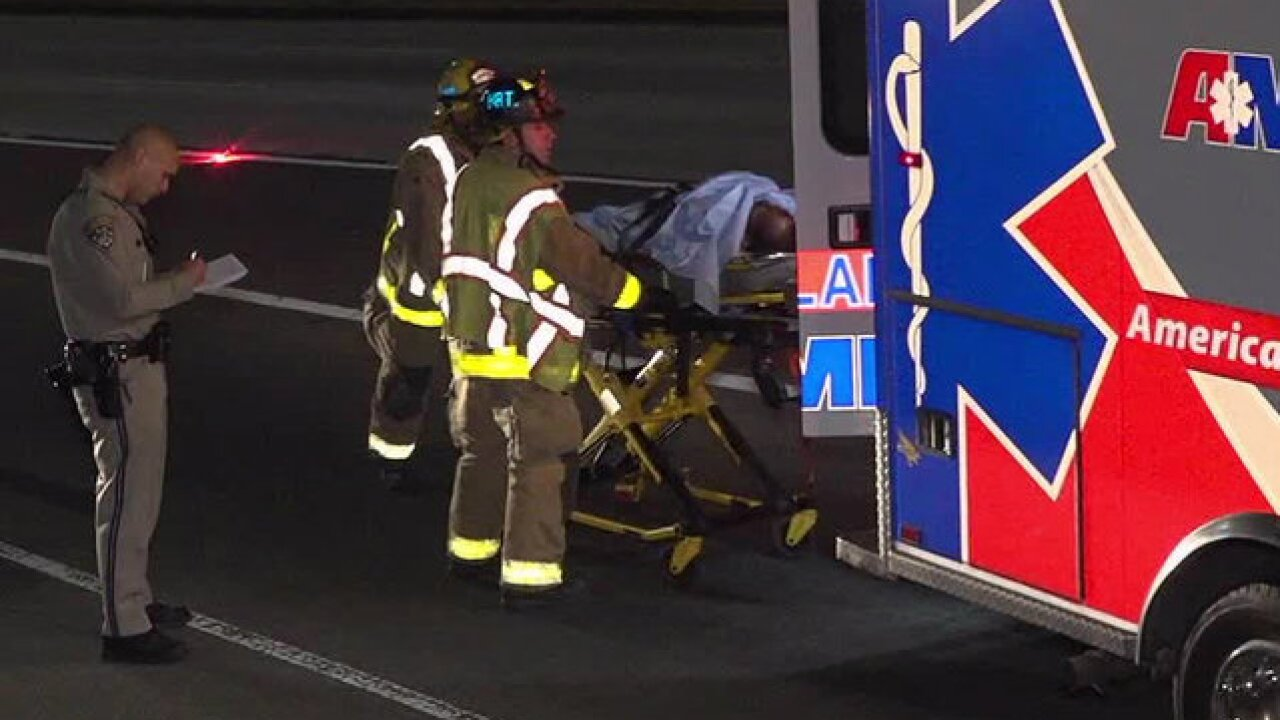 Tow truck driver hit by oncoming car on SR-125