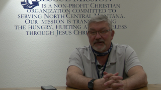 Rescue Mission director Jim McCormick