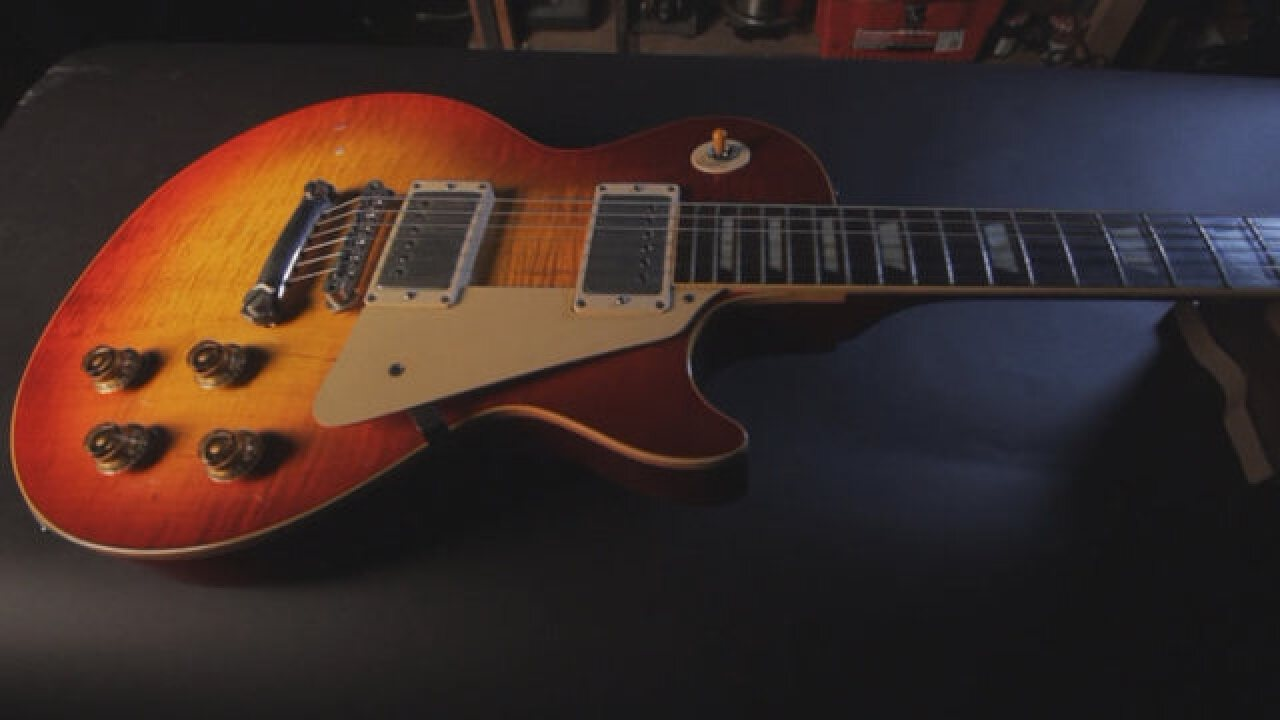 "First ""Burst"" For Sale At Carter Vintage Guitars"