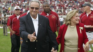 Bobby Bowden, Ann Bowden, Forrest Conoly, Richard Coes, Clay Shiver