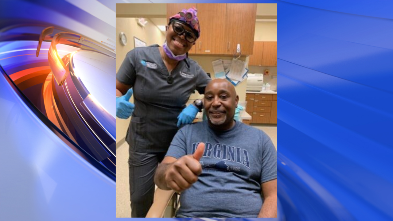 Sailor helping a Sailor: Local veteran receives gift of a new smile