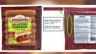 Johnsonville sausage product recalled because it may contain plastic
