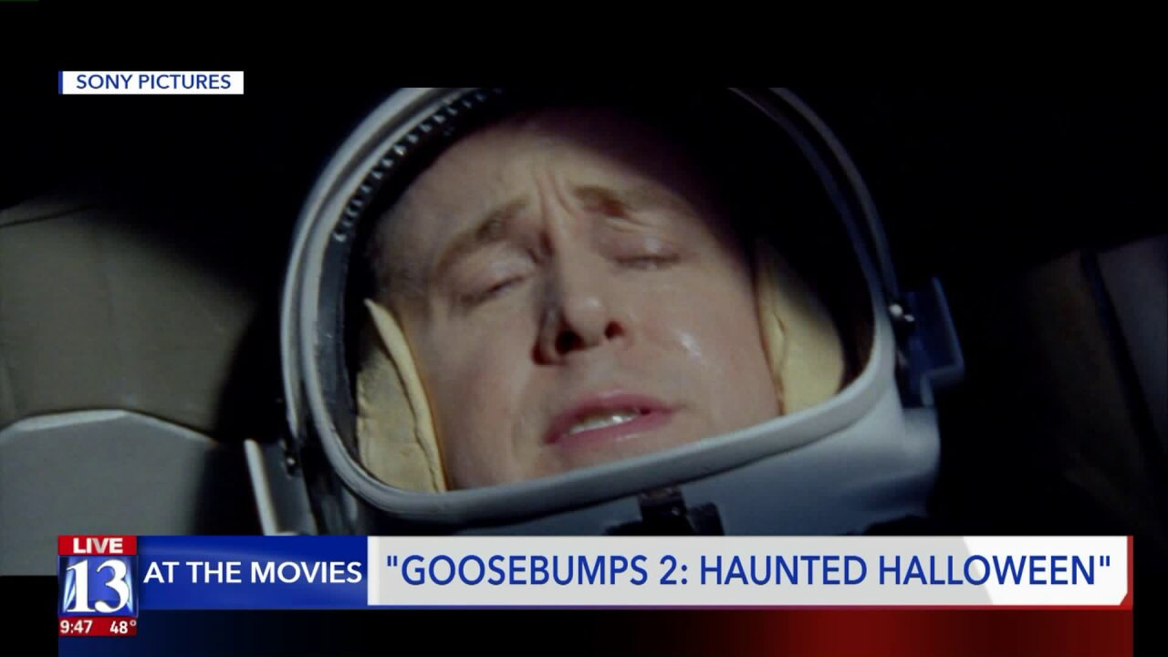 At The Movies: 'First Man' and 'Goosebumps 2: Haunted Halloween'
