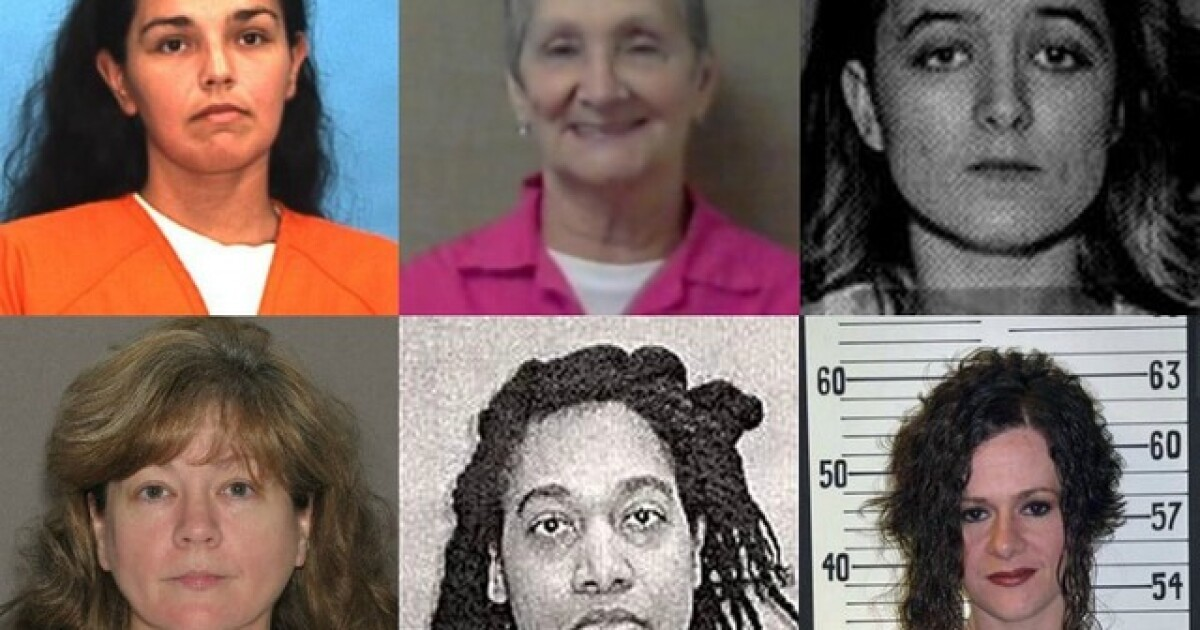 Women on death row: Female death row inmates in the U S
