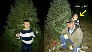 Heartwarming act by employee at Fayette County tree farm brightens Christmas for boy with autism