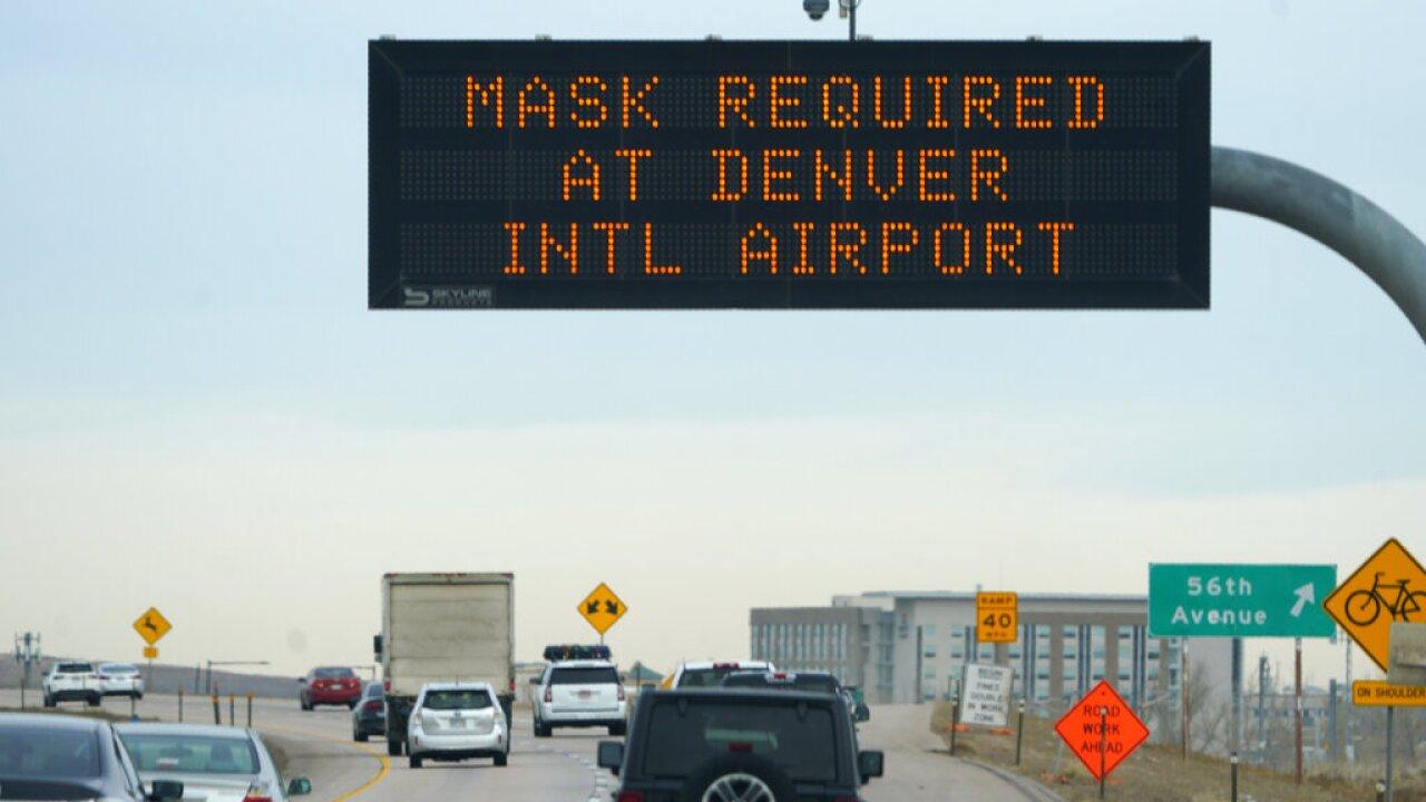 Denver mask sign