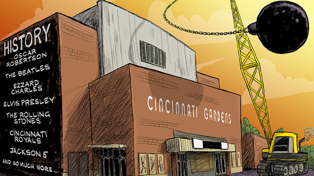 CARTOON: Another historic Cincinnati site faces the wreking ball