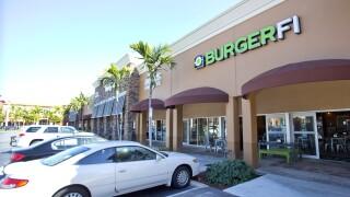 BurgerFi location in Aventura in 2015