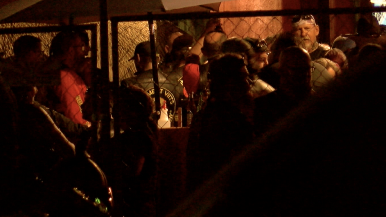 Hundreds flood Chuy's for 'Bike Night' and fundraiser