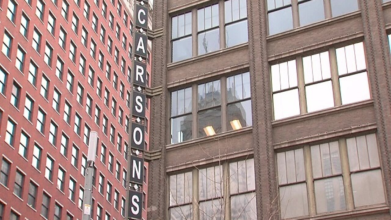 Lights out at Carson's downtown and across the country