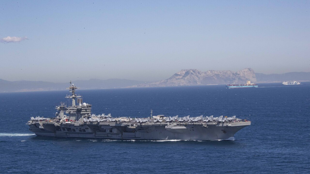 US deploying carrier, bomber task force in response to 'troubling' Iran actions