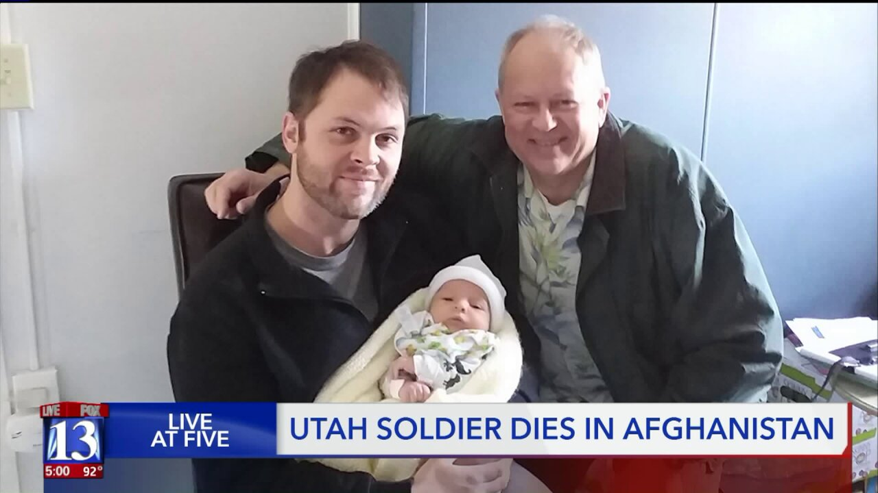 Utah soldier who died in Afghanistan just became a dad, was due home in 3 weeks