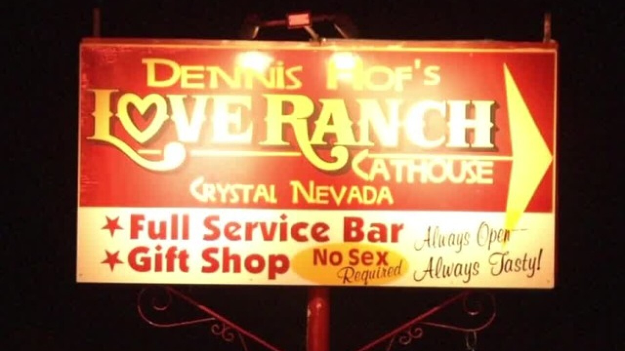 License suspended for Love Ranch Brothel owner