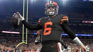 Baker Mayfield jersey sales soaring since win over the Jets